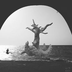 """""""Sculptures + photography #seamonster #blackandwhite #seascape"""" Sea Monsters, Statue Of Liberty, Sculptures, Instagram Posts, Artwork, Photography, Travel, Statue Of Liberty Facts, Work Of Art"""