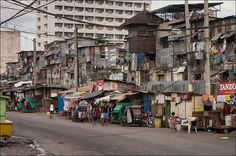 true poverty never seen in the US can be found all over Asia...this is Manila