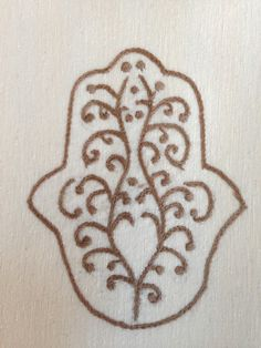 light brown hand embroidered hamsa dishtowel, flour sack fabric 45 TL, 15 euro