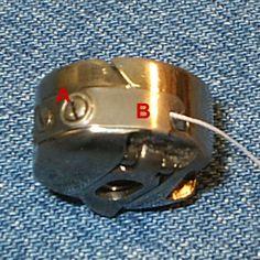 Pfaff bobbin tension adjustments