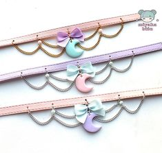sailor moon collar choker pastel goth gothic lolita alternative kawaii creeepycute cute harajuku