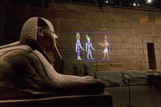 The Metropolitan Museum's Temple of Dendur Plays Host to a Dazzling Light Show