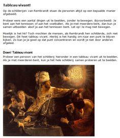Lesbrief over de schilder Rembrandt met ideeën om actief bezig te zijn. De lesbrief  doc. worddocument downloaden:  www.wieisrembrandt.nl/downloads/boekje.doc