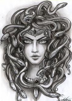 woman and snake tattoo google search tattoo ideas medusa pinterest images tatoo art. Black Bedroom Furniture Sets. Home Design Ideas