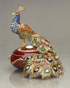 Antique Jewelry Box  | Fashion Jewellery Antique | Rosamaria G Frangini                                                                                                                                                      More