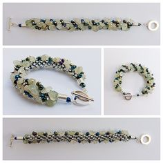 This is the place to find lots of instructions and inspirational photos for use with gemstone chips and kumihimo braiding.