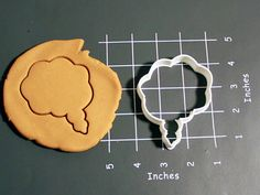 Thought Bubble Cookie Cutter Made to order H0107 by CookieParlor, $6.99