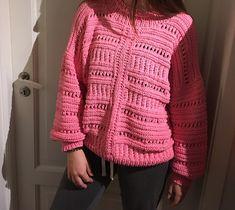 Ravelry: Oslo sommergenser pattern by Anita Kvilvang inspirert av Isabel Marant - IT-Sweater knitting pattern