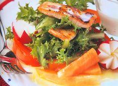 ▷ Ensalada de pollo con papaya | CONPOLLO.ME | Recetas con pollo Seaweed Salad, Ethnic Recipes, Food, Salad Chicken, Recipes With Chicken, Buttercup Squash, Juices, Diners, Ethnic Food