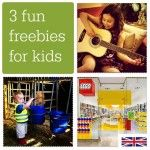 Some of the best freebies for kids right now: from Open Farm Sunday to free build sessions at Lego stores.