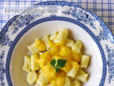 Gnocchi With Creamy Pumpkin Sauce Recipe | Turkish Style Cooking