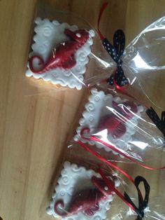 Hippocamp cookies, biscotti ippocampo salernitana