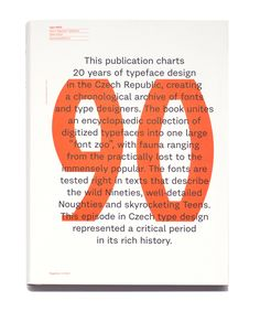 Typo 9010 – České digitalizované písmo 1990–2010   Studio Najbrt