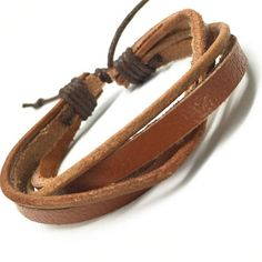 R7C Topanga Beach Leather Bracelet - Accessories