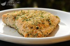 Filetto di salmone gratinato