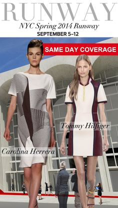 Trend Council:  NYC Spring 2014 Runway CAROLINA HERRERA & TOMMY HILFIGER