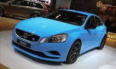 VOLVO S60 POLESTAR. A SERIOUSLY AWESOME CONCEPT CAR. 508 HORSEPOWER WITH 424 LB-FT. OF TORQUE. HALDEX ALL WHEEL DRIVE AND OHLINS SUSPENSION. RUMOR HAS IT JAY LENO HAS ALREADY LAID OUT THE CASH TO ADD THIS ONE TO HIS COLLECTION. SORRY GUYS, WE WON'T BE GETTING CLOSE TO THIS ONE!
