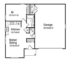 The Bridget Garage Apartment Plan See Details For 059d 7512 Plans