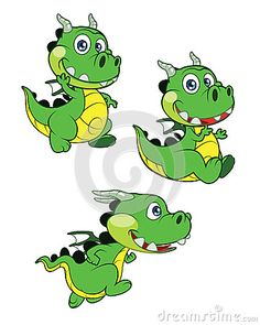 Buy Dragon Baby by GamespriteZ on GraphicRiver. Vector illustration of cute Dragon Baby Cartoon; running, sitting and waving hands for your graphic needs. Files are . Moana Bebe, Dragon Illustration, Funny Illustration, Cute Dragons, Kids Room Wall Art, Cute Dinosaur, Baby Dragon, Baby Cartoon, Pictures To Draw