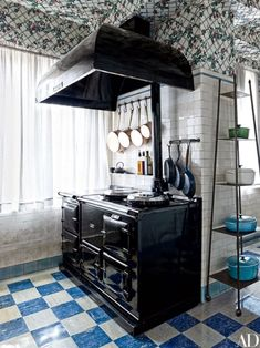 In many kitchens, range hoods are a necessary evil — functional for sure, but far from fantastic-looking. Take a look at these kitchens where the ventilation systems aren't just utilitarian, but help define the entire look of the room. Each and every one is a focal point, deserving of much appreciation.
