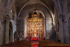 El retablo de la iglesia de Santa María de Olite