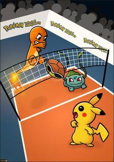 Risultati immagini per pokemon volleyball