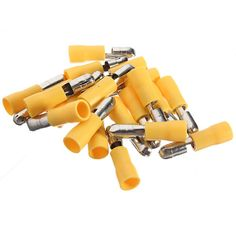 20pcs 4-6mm² Male Insulated Bullet Electrical Terminals Connectors