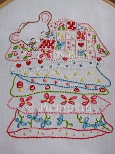 Sweet Dreams Hand Embroidery PDF Pattern by bumpkinhill on Etsy