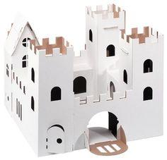 Château fort en carton à décorer - Calafant