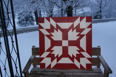 Red and White Triple Bear Claw