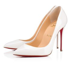 69afa225545b Christian Louboutin United States Official Online Boutique - Pigalle Follies  100 Snow Patent Leather available online