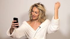 How to Take a Selfie Like a Supermodel #WMag #supermodels #adrianalima #models