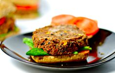 """<p>These burgers are the perfect blend of spiciness, smokiness, and sweetness...and as if they could get better,fast and easy to make!<a href=""""http://www.win-winfood.com/black-bean-burgers/"""" target=""""_blank"""">Get the recipe here.</a></p>"""