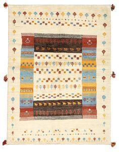 Gabbeh Persisch 147x198 - CarpetVista