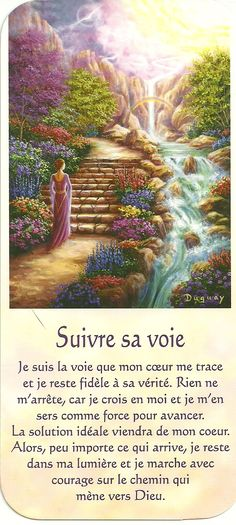 Mario Duguay- Message d'éveil Suivre sa voie Dalai Lama, Messages Spirituels, Reiki, Self Empowerment, Oracle Cards, Osho, Jesus Loves, Positive Affirmations, Self Help