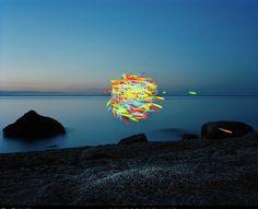 floating illusion instillation art
