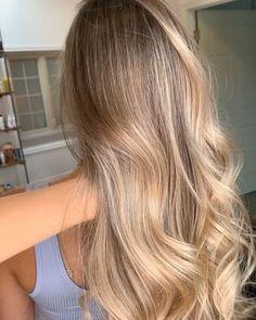 Blonde Hair Looks, Blond Curly Hair, Neutral Blonde Hair, Fall Blonde Hair Color, Hairstyle Tutorial, Hair Color Guide, Glow Hair, Hair Color And Cut, Perfect Hair Color