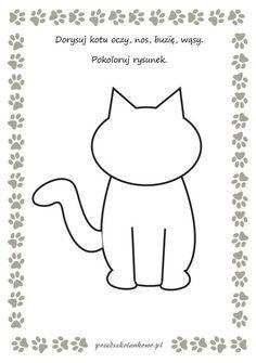 Teddy Bear Day, Diy And Crafts, Arts And Crafts, Cat Activity, Age 3, Videos Funny, Cartoon Art, Kindergarten, Homeschool
