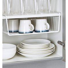 Under shelf basket t