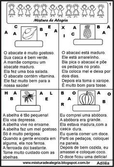 ALFABETIZAÇÃO CEFAPRO DE PONTES E LACERDA : História Infantil - Leitura de Imagem