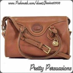 Spotted while shopping on Poshmark: Vintage Dooney & Bourke Leather Satchel Bag! #poshmark #fashion #shopping #style #Dooney & Bourke #Handbags