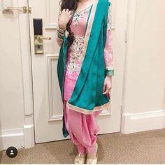 Dessi pink! punjabi suit https://www.facebook.com/punjabisboutique @nivetas  whatsapp : +917696747289