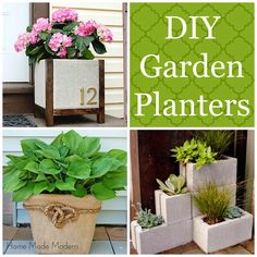 Unique Garden Planters You Can Make