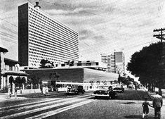 David Libeskind, Conjunto Nacional  © Revista Acrópole n° 222  Via Arquivo Arq