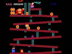 WEBSTA @favoritevideogamessince71 Donkey Kong (1981 Arcade). Gameplay: https://youtu.be/HOOZrtx-SFA