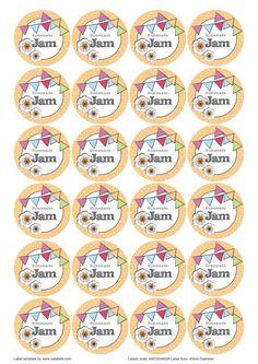 Editable Sweet Jar Labels   Pretty Printables