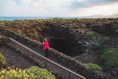 Chiara Magi - Traveling in Lanzarote - Cueva de los Verder underground caves Underground Caves, Canary Islands, Sicily, Railroad Tracks, Traveling, Caves, Lanzarote, Potholing, Viajes