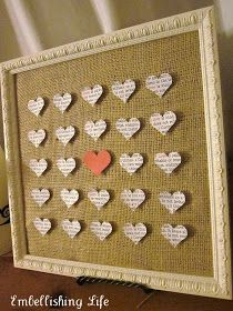 Thrifty Decorating: Valentine's Day is coming...