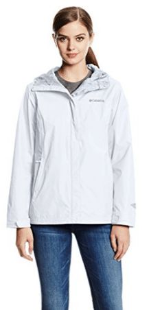 Columbia Womens Arcadia II Jacket WhiteWhite Medium Check out this great product. (This is an affiliate link) Vest Jacket, Hooded Jacket, Coats For Women, Jackets For Women, Waterproof Breathable Jacket, Columbia Jacket, Outerwear Jackets, Active Wear, Raincoat