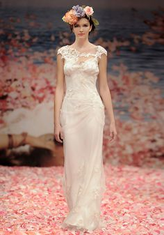 Adagio dress by Claire Pettibone from 2013 An Earthly Paradise Wedding Dress Collections. Available at: http://www.clairepettibone.com/an_earthly_paradise